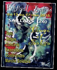 affiche festival latino Saillans